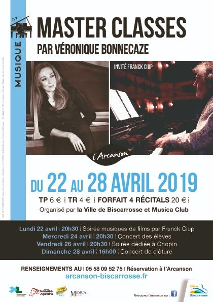 Master Classes, par Véronique Bonnecaze et Franck Ciup